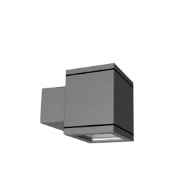 TWIN WALL CUBE 1x9 LED